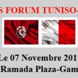 Forum Tuniso-Maltais