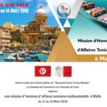 MISSION D'HOMMES D'AFFAIRES TUNISIENS A MALTE